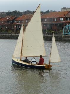 Sailing the Gartside Yawl